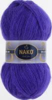 Пряжа Naco Mohair Delicate цвет 6148 фиолетовый