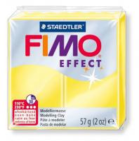 Полимерная глина FIMO «EFFECT» цвет полупрозрачный желтый