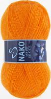 Пряжа Naco Mohair Delicate цвет 6151 оранжевый