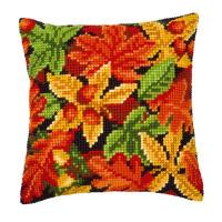 """Подушка """"Осенние листья"""" набор для вышивания"""