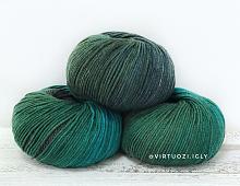 Lana Gatto Super Soft (Суперсофт) 8505 - зеленый микс