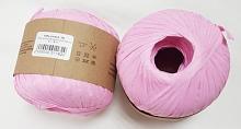 Пряжа Рафия (Raffia), цвет 56 розовый