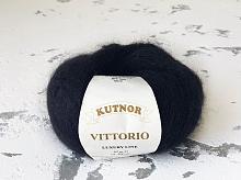 Пряжа Витторио (Vittorio), 0342 черный