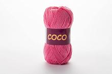 Пряжа Vita cotton COCO цвет 3854 розовый