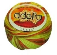 Adelia «LUCIA» № 122 желтый-оранжевый-св.оливковый