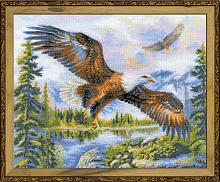 """Набор для вышивания арт.СС-1471 """"Свободный полет"""" 50х40 см"""