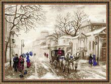 """Набор для вышивания арт.СС-1400 """"Старая улочка"""" 40х30 см"""
