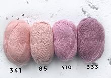 Пряжа Рэббит ангора (Rabbit angora), цвет 85 розовая дымка