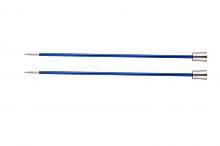 """Спицы прямые """"Zing"""" 4мм/25см, сапфир (темно-синий), 2шт в упаковке"""