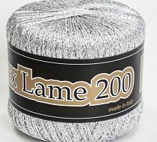 Люрекс Ламе 200 - 900 серебро