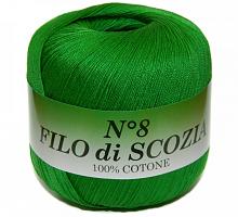 Filo Di Scozia №8 (Фило Ди Скозиа №8 - 41 ярко зеленый листик