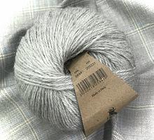 Альпака Силк (Alpaca Silk) 434 светло-серый меланж