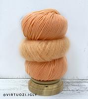 Набор для шапочки Juli (оранжевый) пряжа+описание