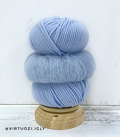 Набор для шапочки Juli (голубой) пряжа+описание