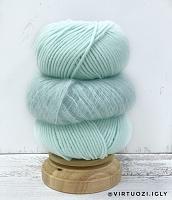 Набор для шапочки Juli (мятный) пряжа+описание