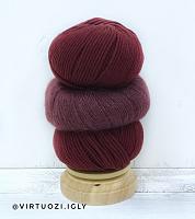 Набор для шапочки Juli (винный) пряжа+описание