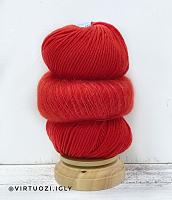Набор для шапочки Juli (красный) пряжа+описание