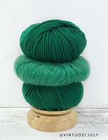 Набор для шапочки Juli (зелёный) пряжа+описание