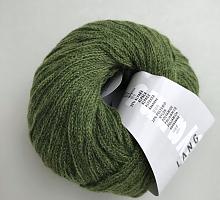 Novena Lang Yarns (Новена) 0117 зеленый
