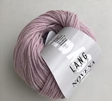 Novena Lang Yarns  (Новена) 0019 нежно розово-сиреневый