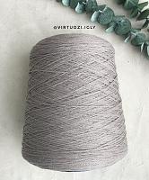 Woolsilk (Вулсилк) ( 60% меринос, 30% шелк, 10% хлопок, 4.3м/1г) 02 холодный бежевый
