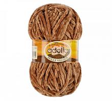 Долли Велюр 20 коричневый
