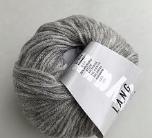 Novena Lang Yarns (Новена) 0003 светло серый меланж