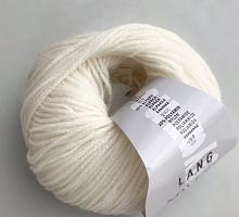 Novena Lang Yarns (Новена) 0094 молочный