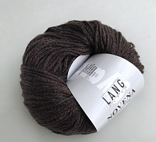 Novena Lang Yarns (Новена) 0068 темно-коричневый