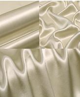 Креп-сатин, цвет жемчужно белый