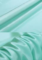 Креп-сатин, цвет голубая бирюза
