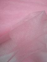 Фатин нежно-розовый блестящий
