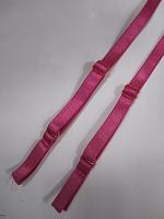 Бретели для бюстгальтера пришивные, цвет розовый , 10мм