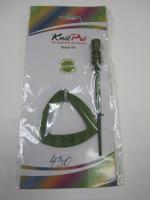 Зажим-застежка деревянная 14 х 6,5 см., цвет оливковый