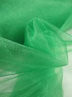 Фатин зеленый блестящий
