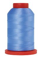 Оверлочная полупрозрачная нить, , SERALENE, 2000 м  №0818 голубой