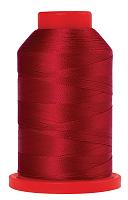 Оверлочная полупрозрачная нить,  SERALENE, 2000 м  №0504 красный