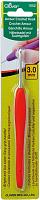 Крючок CLOVER (Кловер) с эргономичной ручкой Amour 3,0 мм