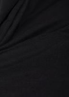 Микровельвет стрейч черный
