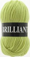 Пряжа Vita Brilliant, цвет 4962 желто-зеленый