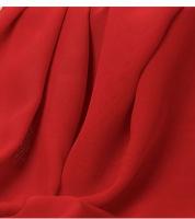 Шифон красный