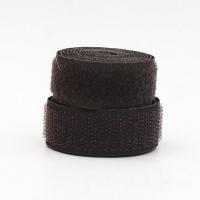 Лента контактная (липучка) шоколадная, 25 мм