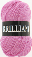 Пряжа Vita Brilliant, цвет 4956 розовый