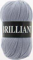 Пряжа Vita Brilliant, цвет 4963 светло-серый