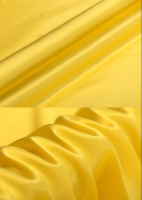 Креп-сатин, цвет желтый