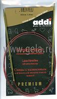 Спицы, круговые, с удлиненным кончиком, позолоченные, №3, 100 см