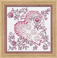 Набор для вышивания арт.СС-1354 Нежное сердце 10х10 см