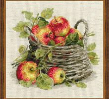 """Набор для вышивания арт.СС-1450 """"Спелые яблоки"""" 30х30 см"""