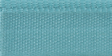 Молния riri атлас. никель,разъем., 1замок 4мм, 70см, тип подвески FLASH, цвет цепи Ni, цвет голубой