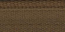 Молния riri атлас. никель,неразъем., 1замок 4мм,18см, тип подвески FLASH, цвет цепи Ni, цвет  светло-коричневый